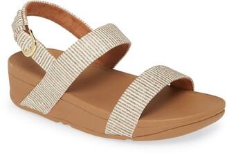 FitFlop Lottie Glitter Slingback Sandal