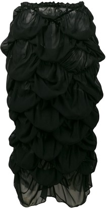 Comme des Garcons Pre-Owned ruffled skirt