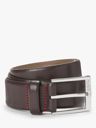 HUGO BOSS by Gellot Embossed Leather Belt