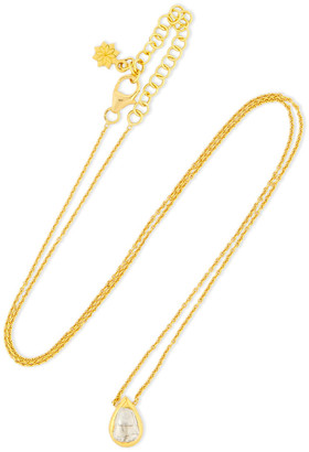 Amrapali Kundun Vintage 18-karat Gold Diamond Necklace
