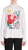 Marni Floral Button Front Shirt