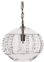 Juliska Harriet Glass Globe Pendant Lamp