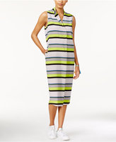 Rachel Roy Striped Midi Shirt Dress