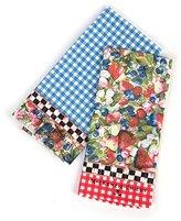 Mackenzie Childs MacKenzie-Childs Berries & Blossoms Dish Towels - Set of 2