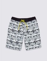 Marks and Spencer Star WarsTM Swim Shorts (3-14 Years)