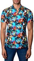 Jared Lang Cotton Underwater Print Sportshirt