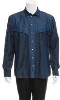 Givenchy Denim Long Sleeve Shirt