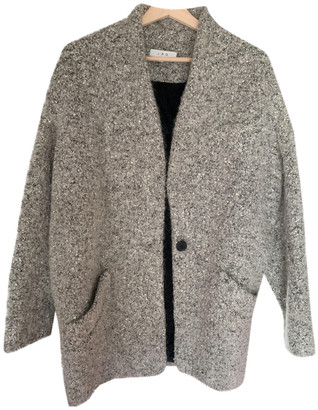 IRO Fall Winter 2019 Grey Tweed Coats
