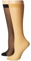 Kate Spade Sheer Lurex Anklet 2-Pack