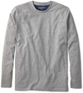 Grey Cotton Long Sleeve T-shirt Size Large By Charles Tyrwhitt