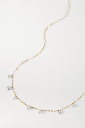 PERSÉE Danae 18-karat Gold Diamond Necklace - one size