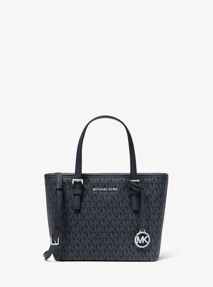 MICHAEL Michael Kors Jet Set Travel Extra-Small Logo Top-Zip Tote Bag