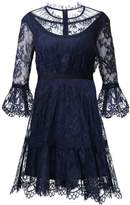 Three floor FINEST HOUR Cocktail dress / Party dress navy