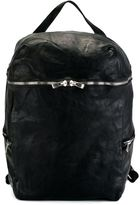 Guidi zip up backpack - unisex - Horse Leather - One Size