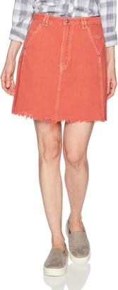 Somedays Lovin Women's Open Road Denim Skirt