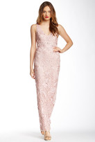 Sue Wong Beaded Long Dress