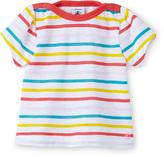 Petit Bateau Baby girl multicolor sailor-striped tee
