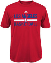 adidas Boys' Los Angeles Clippers Practice Wear Graphic T-Shirt