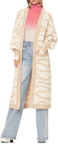 AFRM Blakely Zebra Stripe Long Cardigan