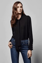 J Brand Delorna Top in Black