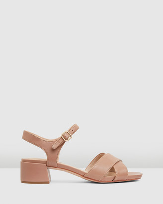 Clarks Women's Brown Heeled Sandals - Sheer35 Strap - Size One Size, 4 at The Iconic