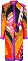 Emilio Pucci printed shirt dress - women - Silk - 38
