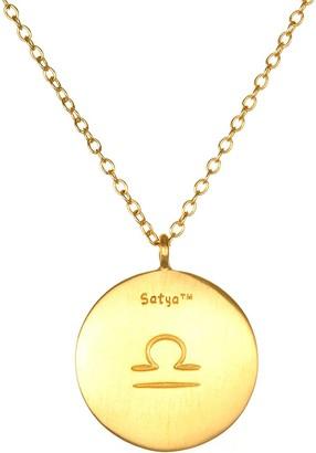 """Satya Zodiac Gemstone 18"""" Necklace"""