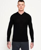 Superdry Call Sheet Merino Vee Neck Sweater
