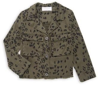 Bella Dahl Little Girl's & Girl's Cropped Military Jacket