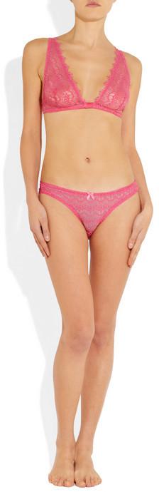 Mimi Holliday Bisou Bisou Cherie soft-cup triangle lace bra