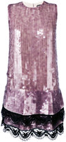 Tom Ford sequined shift dress - women - Silk/Viscose - 38
