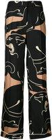 Valentino palazzo pyjama trousers - women - Silk - M