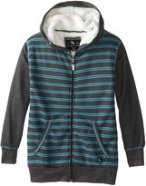 American Hawk Big Boys' Sherpa Lined Thermal Hoodie
