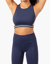 Madewell LIVELY Active High-Neck Racerback Sports Bra