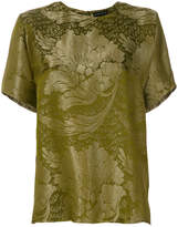 Etro brocade patterned T-shirt