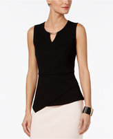 Thalia Sodi Asymmetrical Hardware Top, Only at Macy's