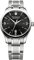 Victorinox 241473 Alliance Bracelet Strap Watch, Silver/black