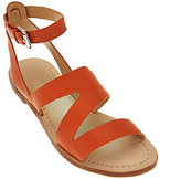 Marc Fisher As Is Leather Multi-strap Sandals - Floretta