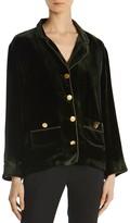 The Kooples Velvet Jacket