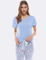 Deshabille All Night Tee Blue Marle