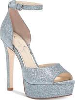 Jessica Simpson Beeya Two-Piece Platform Sandals Women's Shoes