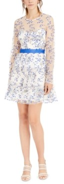 Foxiedox Anna Floral Fit & Flare Dress