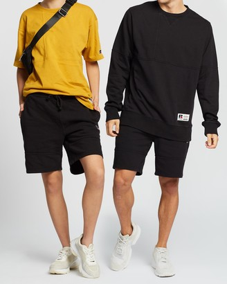 Russell Athletic Heavy Panelled Track Shorts - Unisex