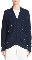 Rachel Comey Women's Inni Embroidered Cotton Blend Cardigan