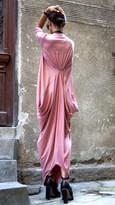 Etsy Maxi Dress Asymmetric Kaftan / Long Dress / Delicate Ash Rose / Loose 3/4 Sleeve Kaftan A03264