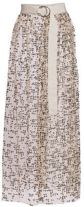 Rachel Comey Fetes Frame Long Tulle Skirt