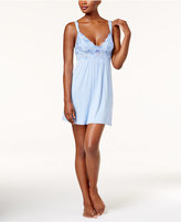 Thalia Sodi Lace-Bodice Knit Chemise, Only at Macy's
