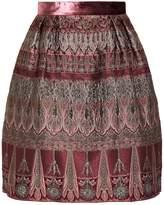 Alberta Ferretti Jacquard Skirt