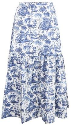 STAUD Orchid skirt