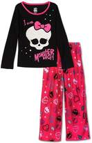 "Monster High Girls ""I am Poly Pajama Set , Size M(7/8)"